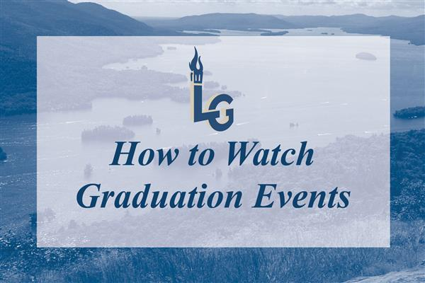 How to Watch Graduation Events