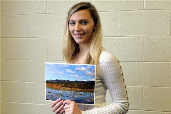 Julia Heunemann with her winning photo