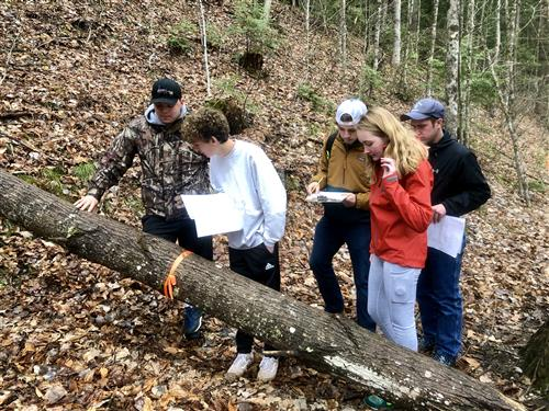 five students compete in Envirothon