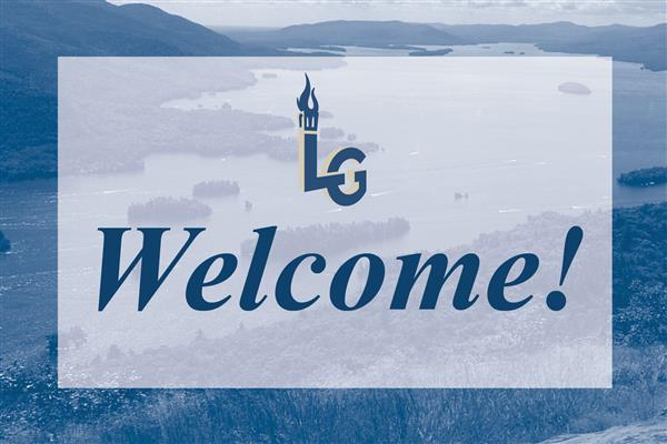 Welcome to Lake George graphic